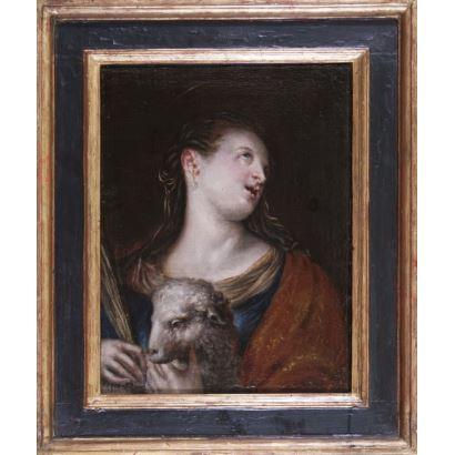 Óleo sobre lienzo. s.XVII.