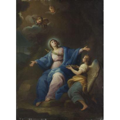 Escuela Italiana, siglo XVIII.