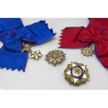 Dos condecoraciones chilenas, S. XX.