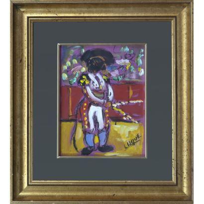 Pintura del siglo XX. FERNÁNDEZ LUQUE, Manuel (Écija, 1919-Valencia, 2005)