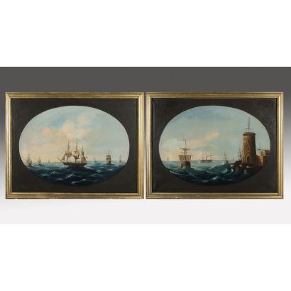 Pintura del siglo XIX. Escuela Española, siglo XIX.