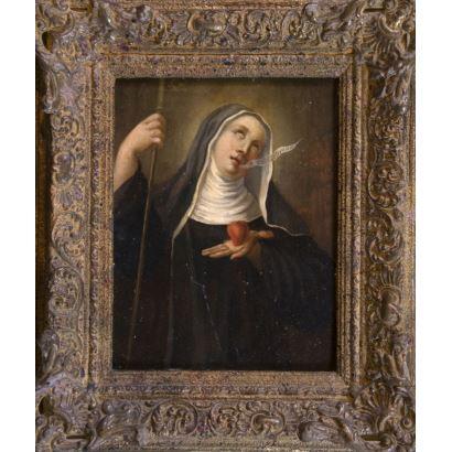 Pintura de Alta Época. Escuela española, S. XVIII.