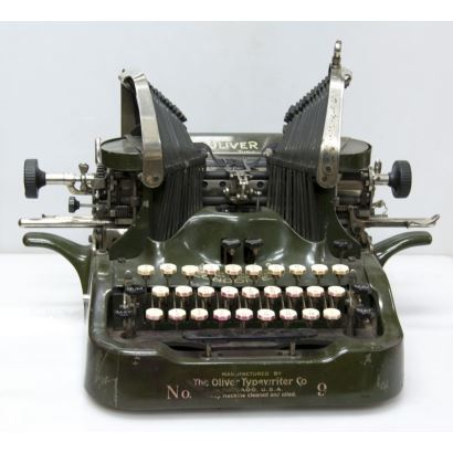 Máquina de escribir, pps. XX.