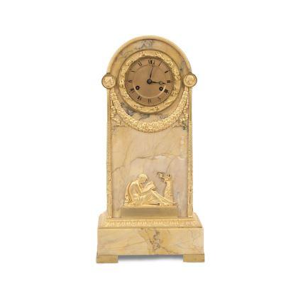 Reloj de sobremesa Imperio, S. XIX