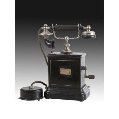 Teléfono, hacia 1900