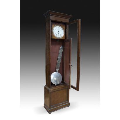 Relojes. Reloj de caja alta español, pps. XX.
