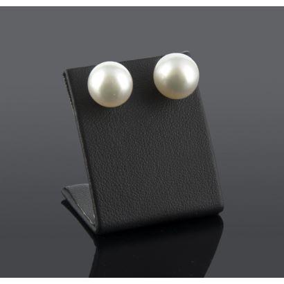 Pendientes de perlas australiana