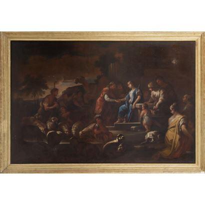 Óleo sobre lienzo. Siglo XVII.