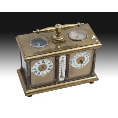 Reloj científico de sobremesa, pps. XX.