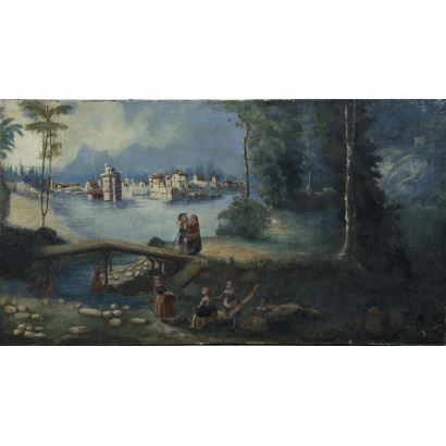 Escuela Holandesa, siglo XIX.