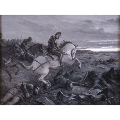 JIMÉNEZ ARANDA, José  (Sevilla, 1837 - 1903)