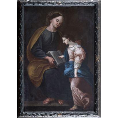 Óleo sobre lienzo. Escuela española. Siglo XVII.