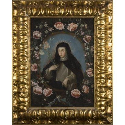 Pintura de Alta Época. Escuela española, fin S. XVII.