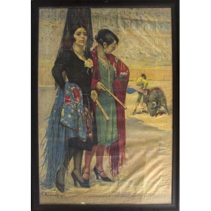 Pintura del siglo XX. CARLOS RUANO LLOPIS (Orba, Alicante, 1879- México, D.F. 1950)