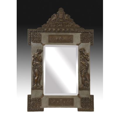 Espejo veneciano, circa 1900.
