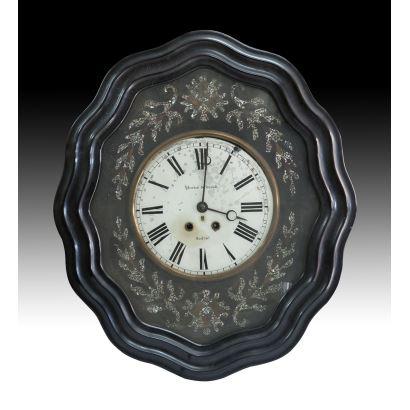 Reloj ojo de buey, siglo XIX.