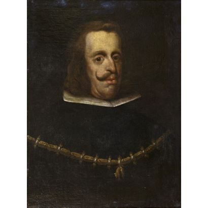 Pintura de Alta Época. Círculo de Diego Velázquez (Sevilla, 1599-Madrid, 1660)