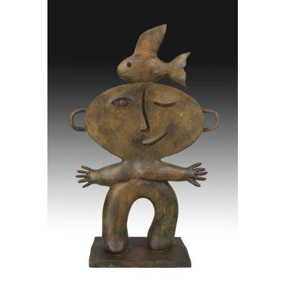 Esculturas. JUAN GARCÍA RIPOLLES (ALCIRA, 1932).