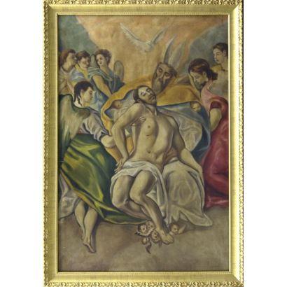 Siguiendo modelos de El Greco (Grecia, 1541 - Toledo, 1614)