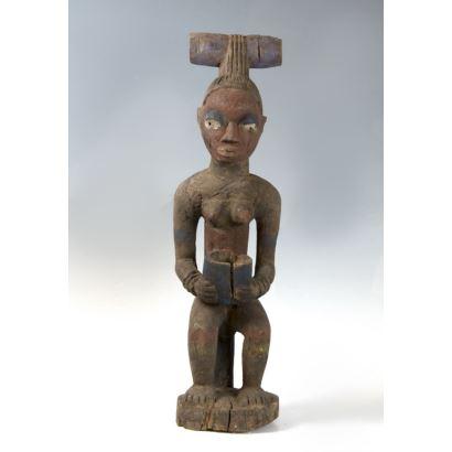 Escultura Africana, siglo XIX.