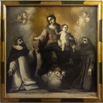 Pintura de Alta Época. JUAN FRANCISCO GARZÓN (Sevilla, circa 1640 - 1694)