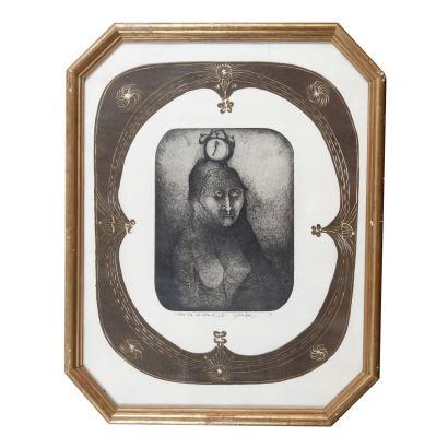 Obra Gráfica. JULIO ZACHRISSON (Panamá, 1930)