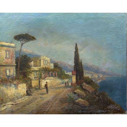 Pintura del siglo XX. PIETRO TORETTI (Italia, 1888-1927)