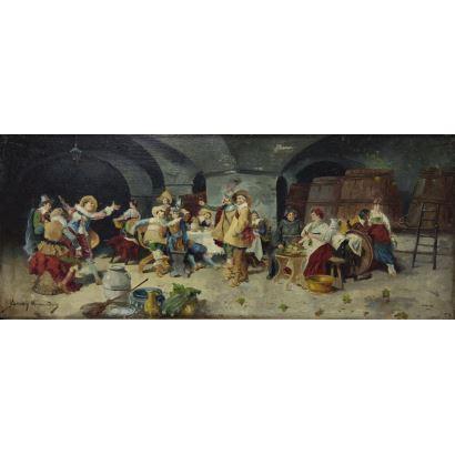 Escuela Española, siglo XIX.