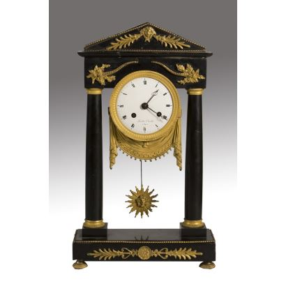 Reloj de sobremesa, Francia, S. XVIII.