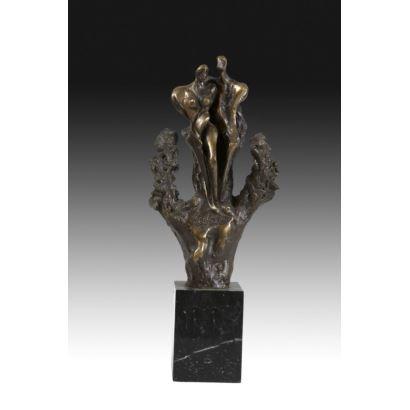 Escultura abstracta, siglo XX.