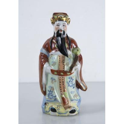 Figura en porcelana, siglo XX.