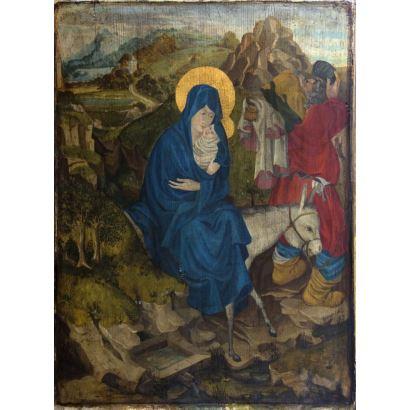 Pintura del siglo XX. Siguiendo modelos de Melchior Broederlam (Ypres, Bélgica, 1350 - 1409)