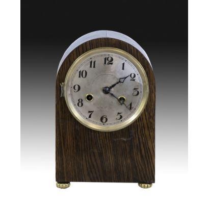 Reloj de sobremesa inglés, pps. XX.