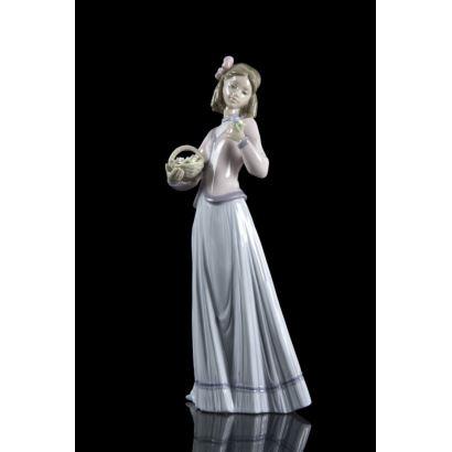 Porcelana. Escultura en porcelana Lladró, siglo XX.
