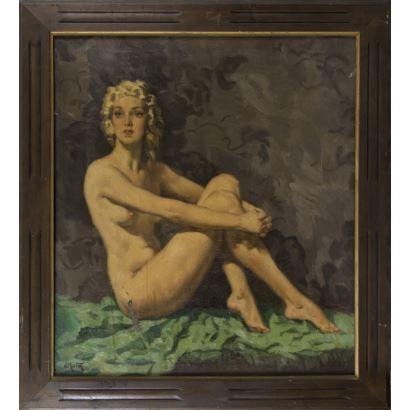JOSÉ MARTÍN ESTÉVEZ (Huelva, San Silvestre de Guzmán, 1899-1979)