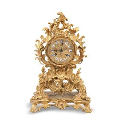 Reloj estilo Luis XV, S. XIX