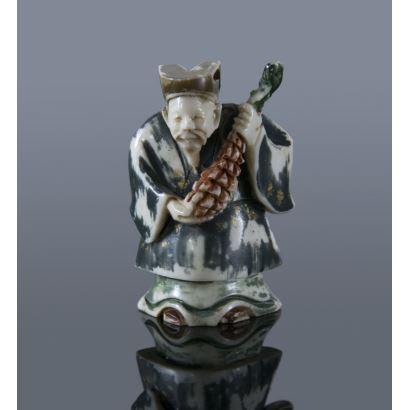 Netsuke Oriental, pps. XX.