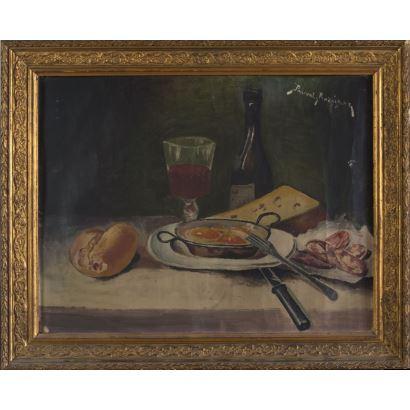 RODRÍGUEZ ESCUDERO, Pascual. 1905. Óleo sobre lienzo.