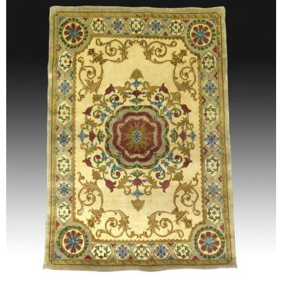 Alfombra estilo Oriental en lana.