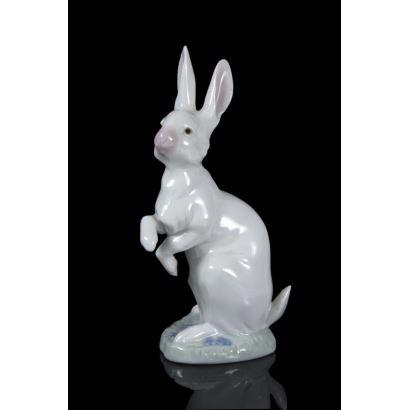 Figura en porcelana Lladró, Daisa, S. XX.