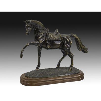 Escultura en bronce español, siglo XX.