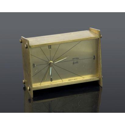 Relojes. Reloj despertador Obayardo, años 60.