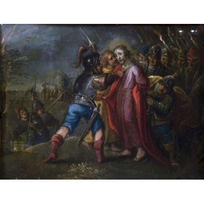 Pintura de Alta Época. Escuela flamenca, siglo XVII.