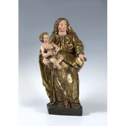 Esculturas. Escuela castellana, SS. XVI - XVII.