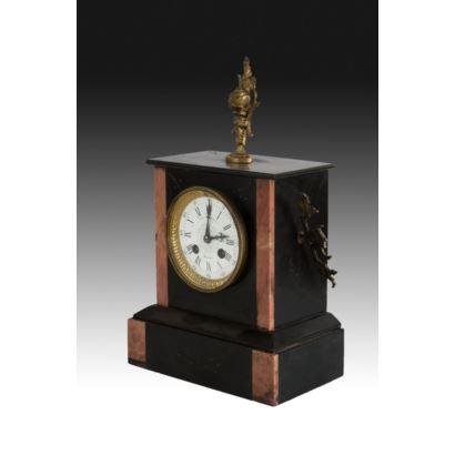 Relojes. Reloj de sobremesa francés, ppios. S. XX.