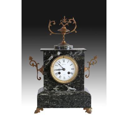 Relojes. Reloj de sobremesa, Francia ppios. S. XX.
