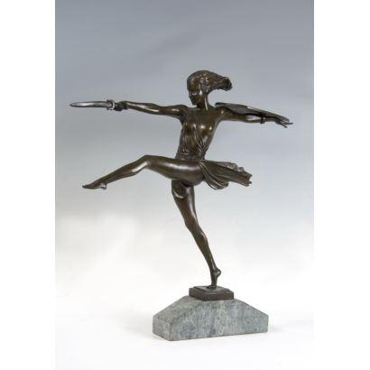 Siguiendo modelos de Pierre Le Faguays (Rezé, Francia, 1892- París, 1962)