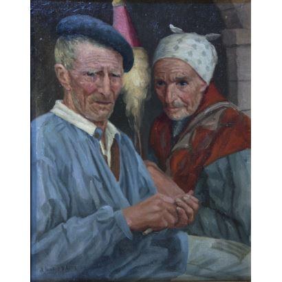 JULIÁN IBÁÑEZ DE ALDECOA  (Bizkaia, 1866 - 1958)