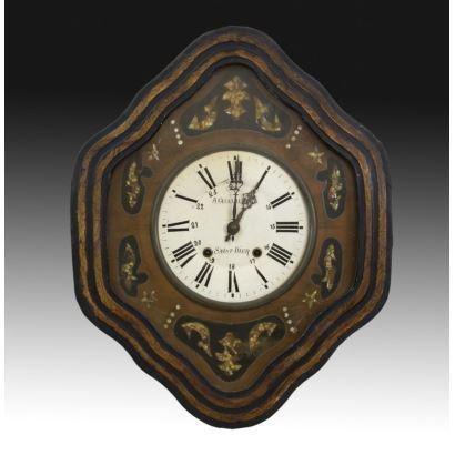 Reloj ojo de buey, Francia, siglo XIX.