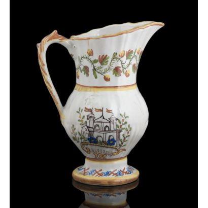 Jarra de cerámica, Ribesalbes, mediados S. XX.